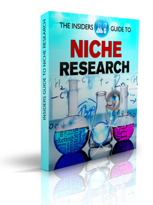 Product picture The Insider Guide To Niche Research