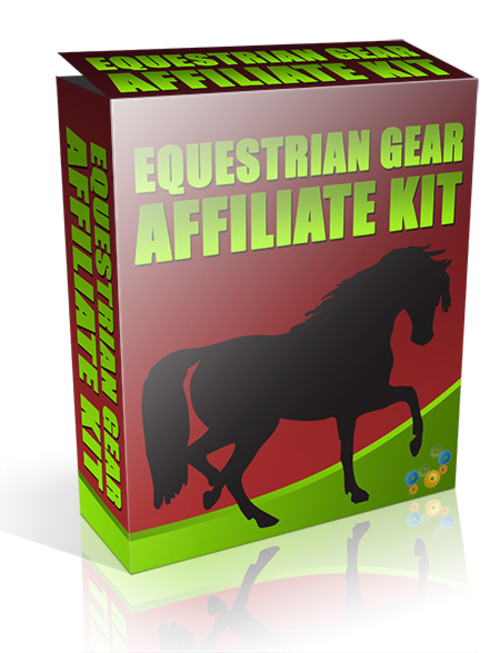 Product picture Equestrian Gear Affiliate Kit With Resell Rights