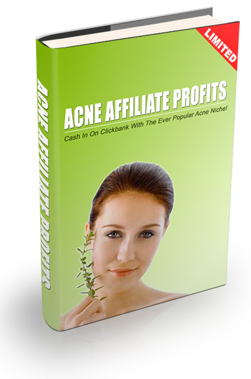 Product picture Acne Affiliate Profits With Resell Rights
