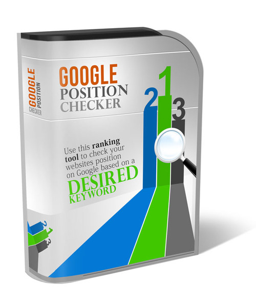 Product picture Google Position Tool/Checker With Resell Rights