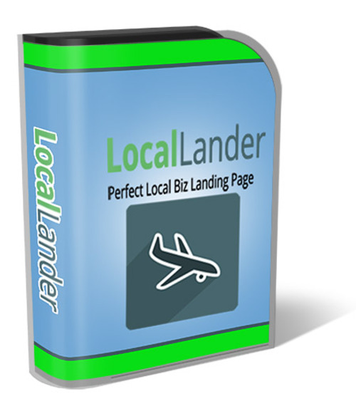 Product picture WP Local Lander Plugin With Resell Rights