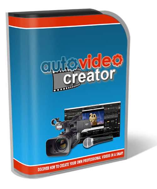 Product picture Auto Video Creator 2014 With Resell Rights