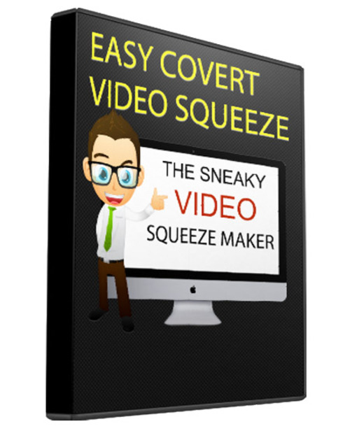 Product picture Covert Video Squeeze Page Creator With Resell Rights