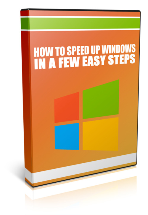 Product picture How To Speed Up Windows Using This Few Easy Steps