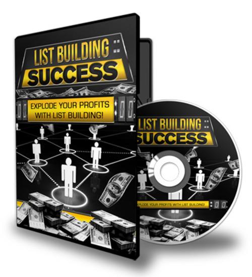 Product picture List Building Success