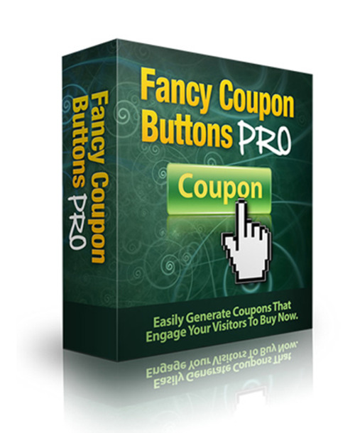 Product picture Fancy Coupon Buttons Pro