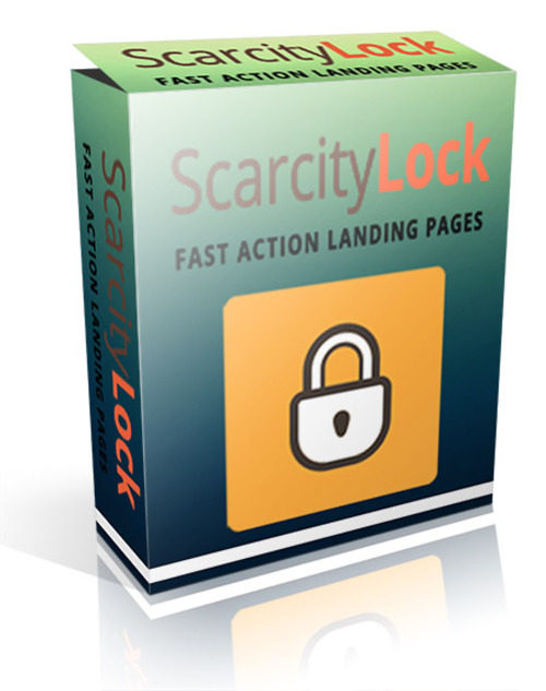 Product picture WordPress Scarcity Lock Plugn With PLR