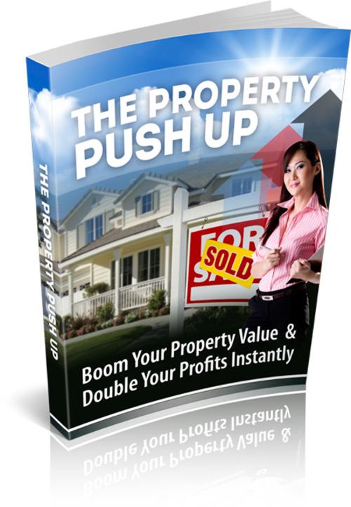 Product picture Property Push Up. MRR, PLR, RR